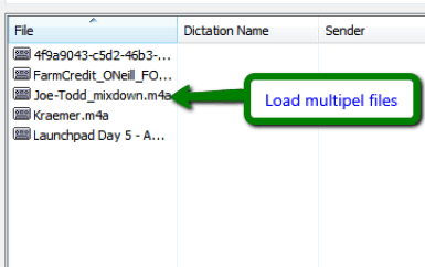 load multiple files