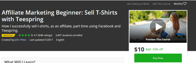 Affiliate_marketing_beginner_sell_tshirts_with_teespring
