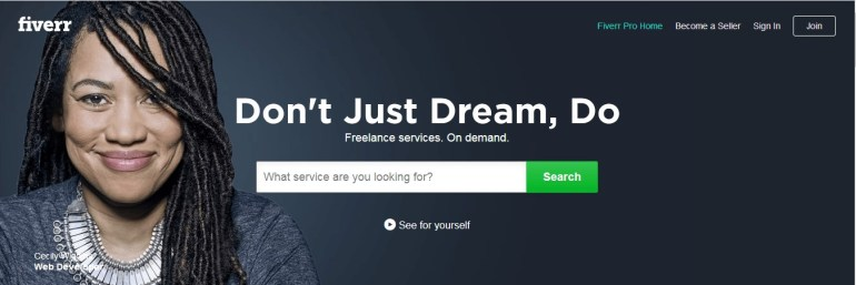 online proofreading jobs on Fiverr
