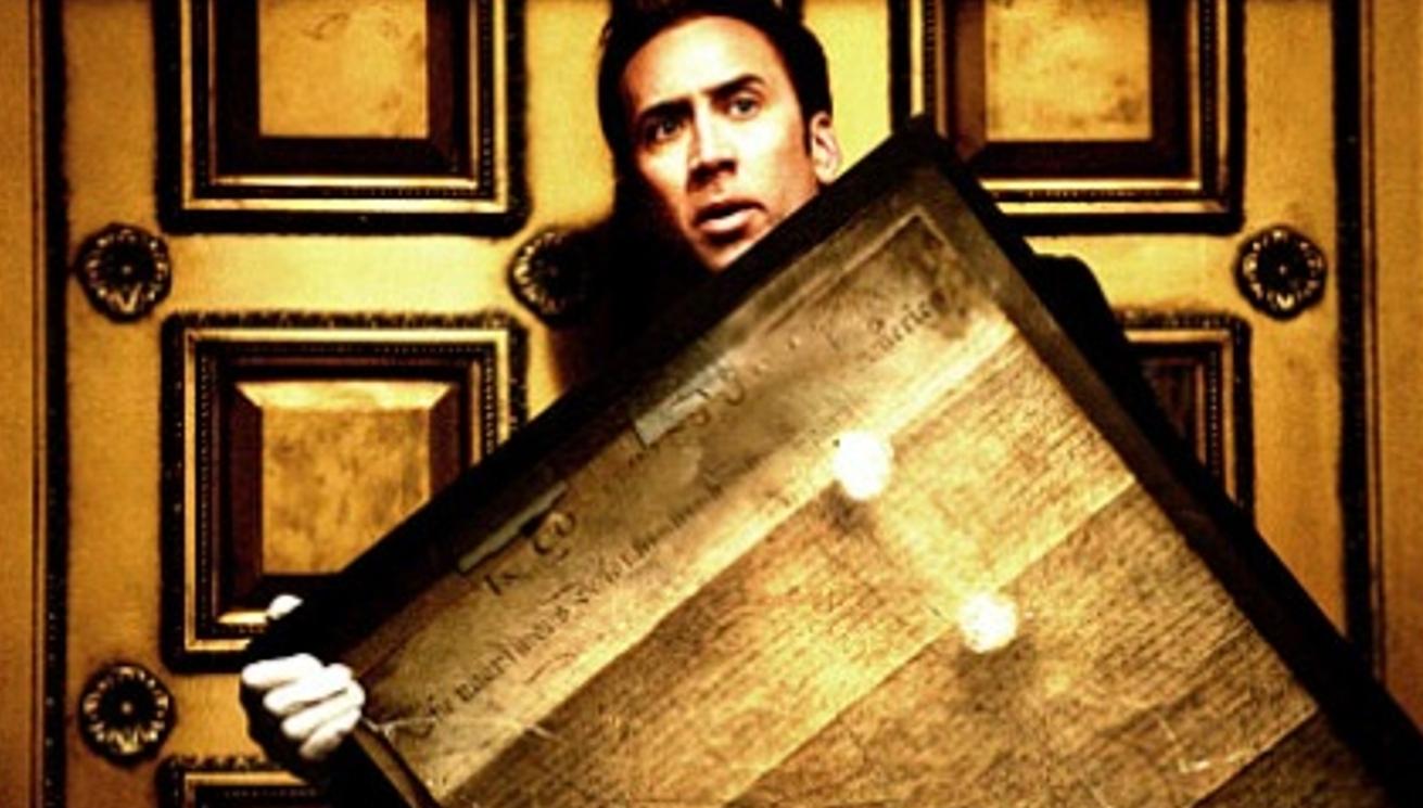 Brian Terrills 100 Film Favorites 50 National Treasure