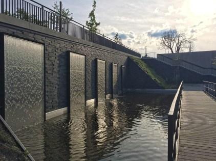 Rennsteiglauf 2016 Wasserwand