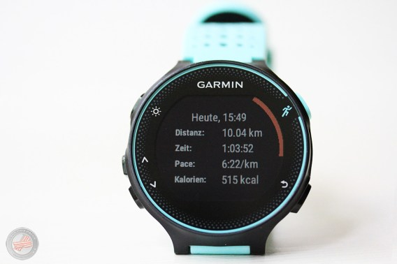 Garmin Forerunner 235 Trainingsdaten1