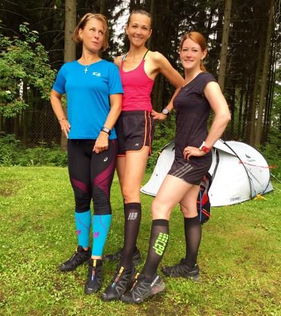 Sachsentrail2016 Running Girls