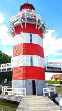 SwimRun Rheinsberg Leuchtturm