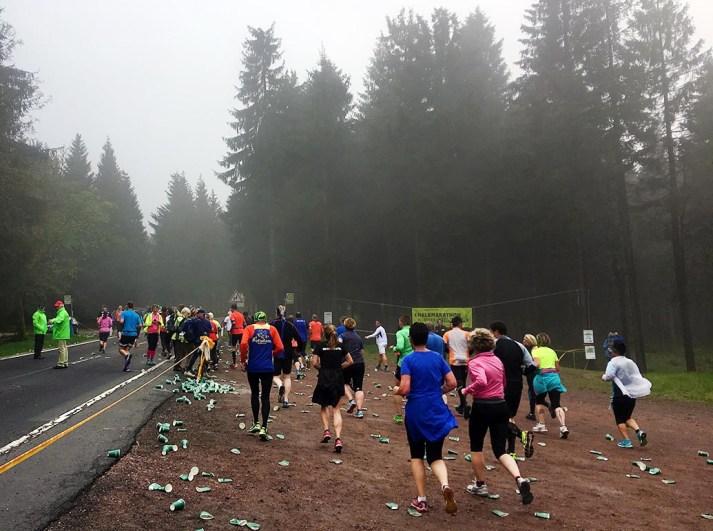 rennsteig2017 In den Nebel