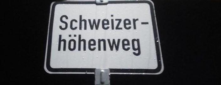 Horizontale Schweizer Höhenweg
