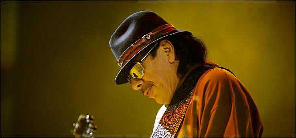 Carlos Santana still stunning the masses