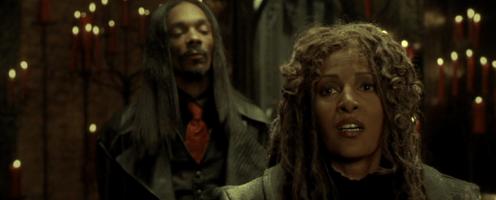 Interviewing kickass screen legend Pam Grier for the Snoop Dogg horror flick Bones