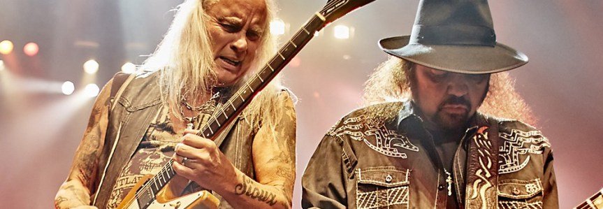 Lynyrd Skynyrd blows the motherf***ing roof off the Hard Rock with a southern-fried riff-fest for the ages