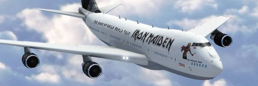 Dear Iron Maiden: please play Vancouver on the Book of Souls World Tour –your old buddy, Newt