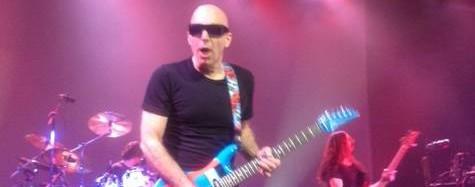 Joe Satriani astounds the Newt yet again with the magical Shockwave Supernova