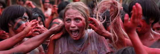 The Green Inferno is a weak homage to cannibal horror