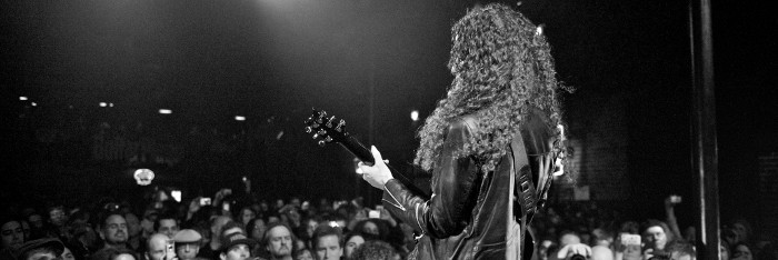 Marty Friedman used his guitars to fight fear after the 2011 Japanese earthquake
