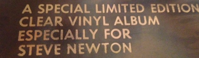 Why couldn't my name have been foil-stamped on a Maiden album instead of Roger Hodgson?