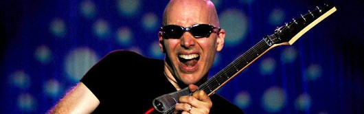 "That time I asked Joe Satriani to pick five ""desert islands discs"" and he went 80 percent Hendrix"