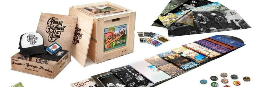 Allman Brothers Band vinyl box boasts a ton of collectables in a kickass wooden crate