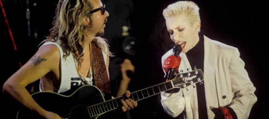 Annie Lennox struts her stuff as Eurythmics prove themselves pop masters in Vancouver
