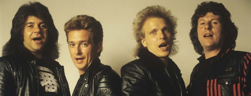 "Graham Bonnet on that infamous MSG gig of '82: ""If your pants had split down the front and your cock fell out, what would you do?"""