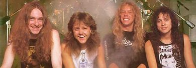 "Three months after Cliff Burton's death Metallica's James Hetfield told me ""You can't give up"""