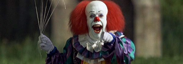 "New audio: Tim Curry, aka Pennywise, talks about ""finding your clown face"" on the 1990 set of Stephen King's It"