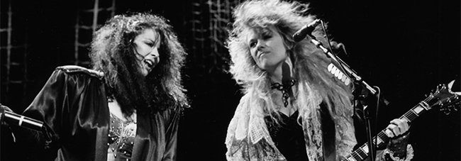 Heart singer Ann Wilson's passionate wails can still send a shiver up the spine in 1987