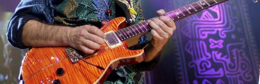That time I asked Carlos Santana how he gets his guitar tone
