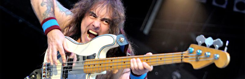 That time I asked Iron Maiden's Steve Harris if he had to practice a lot to keep his bass licks up
