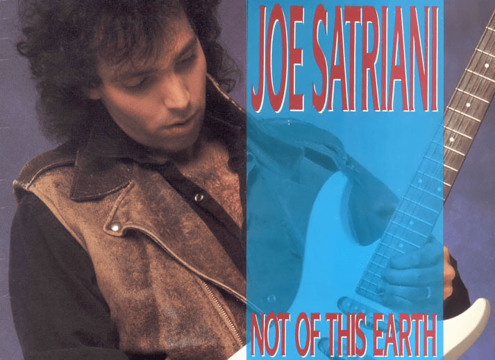 That time Joe Satriani told me how an unsolicited Mastercard application got Not of This Earth off the ground