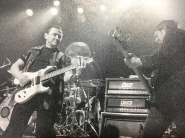 Blue Öyster Cult don't need no stinkin' strobes to light up a stage in 2000