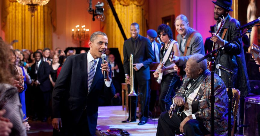 That time Derek Trucks told me about watching a hip Barack Obama mouth Howlin' Wolf lyrics