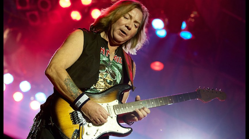 That time Iron Maiden guitarist Dave Murray told me that growing up in poverty gave him an edge