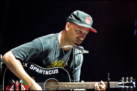 That time Tom Morello told me that he looks at guitars as collaborators