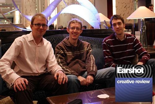 Steve Martin, James Stodd and Dan Snaith