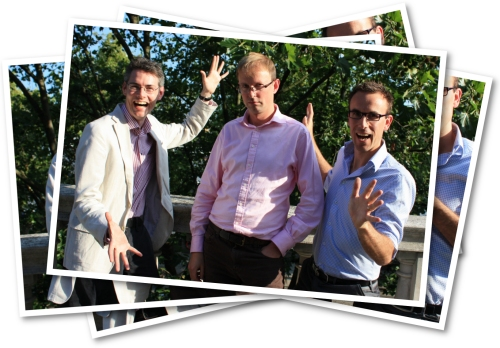 radio's James Cridland, Steve Martin and David Couch