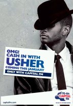 Capital FM Usher Launch Promotion