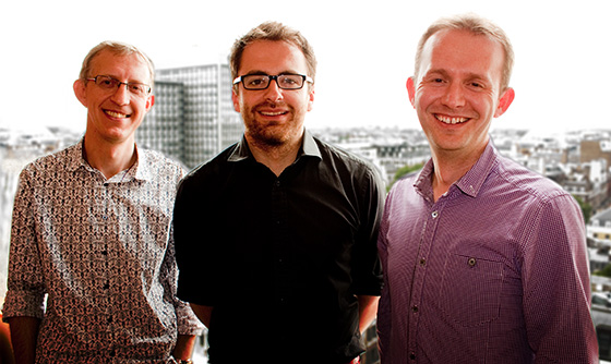 James Stodd, Richard Culver and Chris Reay