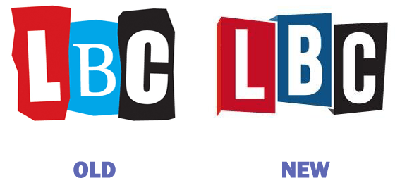 LBC New and Old logos