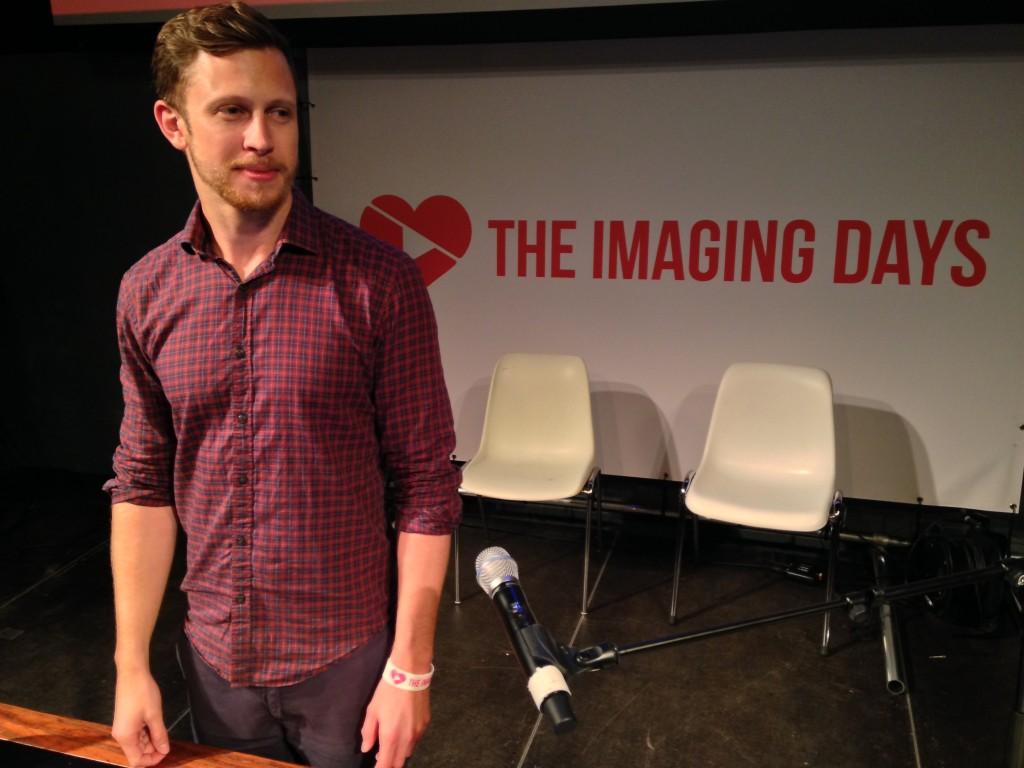 Chris Nicol of Global Radio at The Imaging Days
