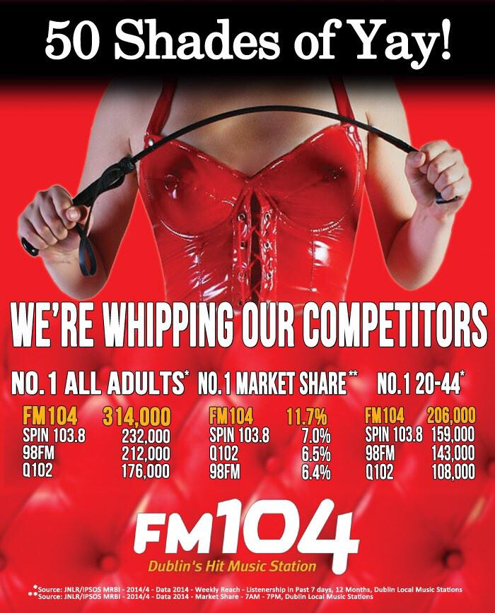 50 Shades of FM 104