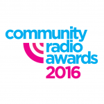 Community Radio Awards 2016 logo