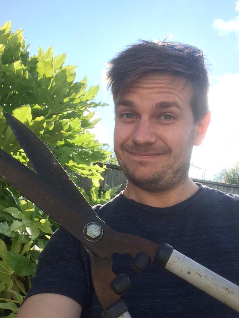 James Dundon edits the hedge