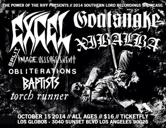 XIBALBA Completes Third LP For Early 2015 Release Through