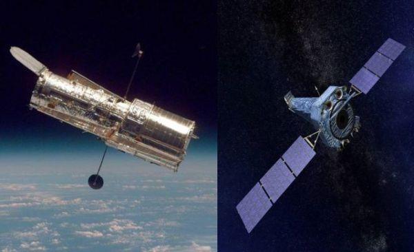 NASA space telescopes Chandra and Hubble enter safe mode