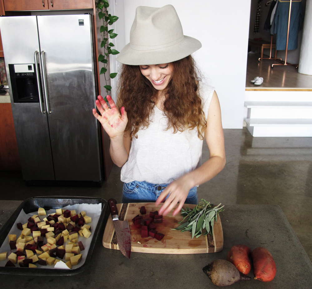 lookbook cookbook grounding root veg recipe with tonya