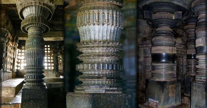 Столбы храма Халебиду