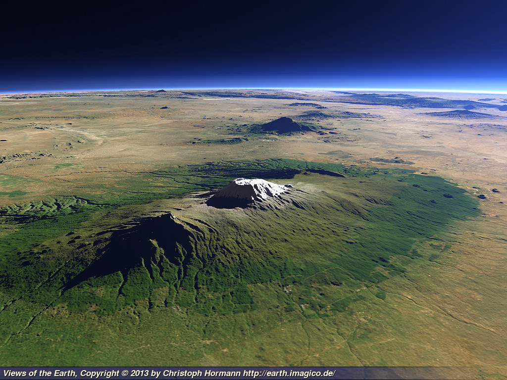 Views Of The Earth The Snows Of Kilimanjaro