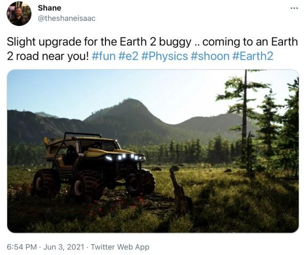 Benvenuto Earth 2 buggy - earth 2 - earth2italia.net
