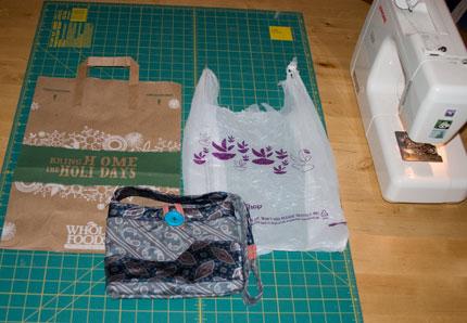 While this shipping envelope project requires some sewing, it's pretty quick and easy, saving both time and money. Photo: Team EcoEtsy