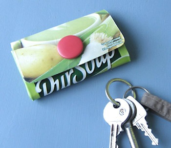 Eco-DIY: Tetrapak coin purse