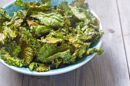 How to make Parmesan Kale Chips
